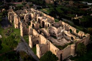 Terme di Caracalla con il nuovo percorso sotterraneo
